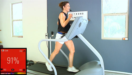 45 minute run workout for the treadmill or the great outdoors The Zone Run