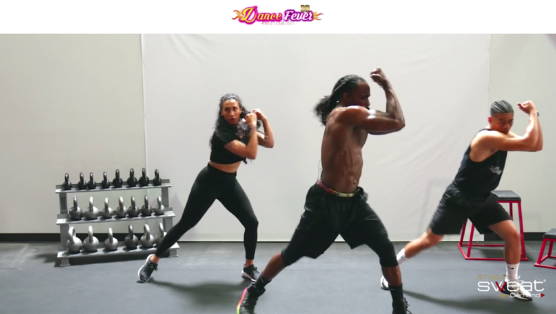 super fun online dance cardio workout Dance Fever 3D - FIRE