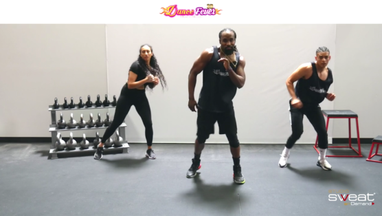fun online dance cardio workout Dance Fever - WIND
