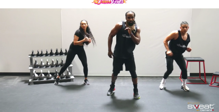 fun online dance cardio workout Dance Fever - WIND