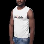 Muscle Cut Logo Tank
