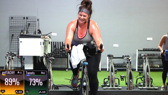 Warrior Ride 20-minute Spinning class with motivational songs