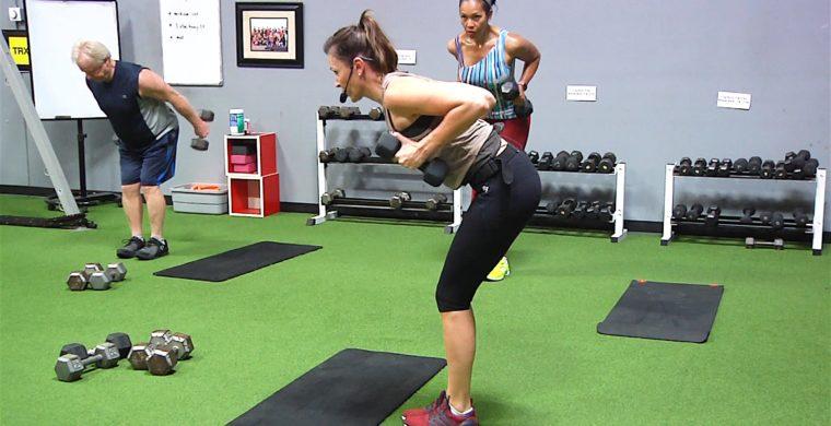 the best arm, shoulder, and back exercises 12 Min. Tank Top Toner