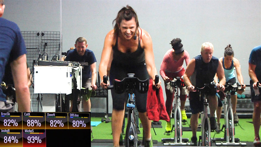 Spin class with a hot Summer Playlist Cool Summer Cycle