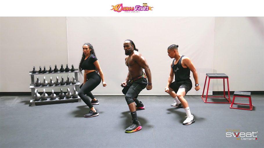 Super Fun Online Dance Cardio Workout Dance Fever 3D - WATER