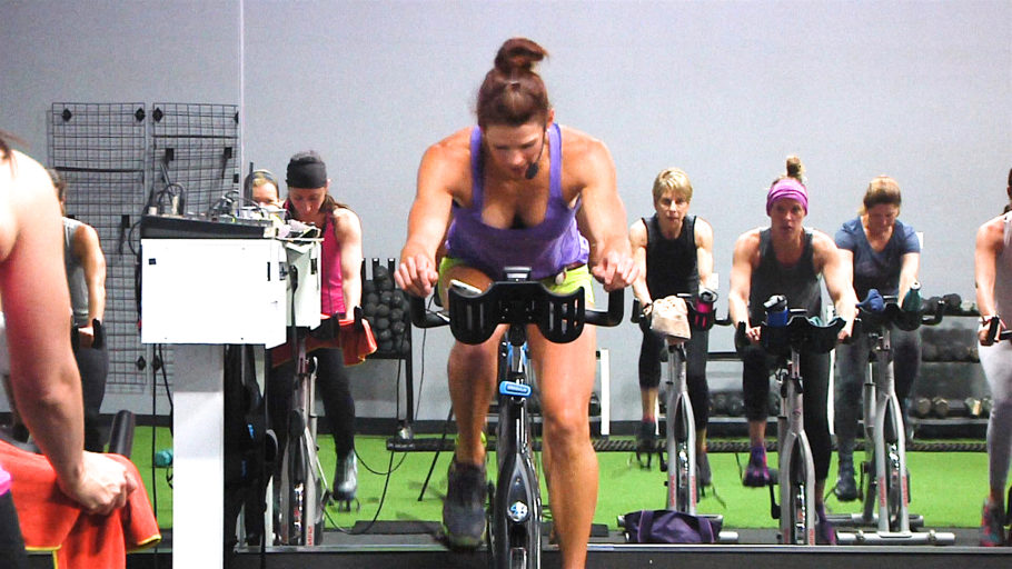 30-minute Spin class focuses on building power On Your Left!