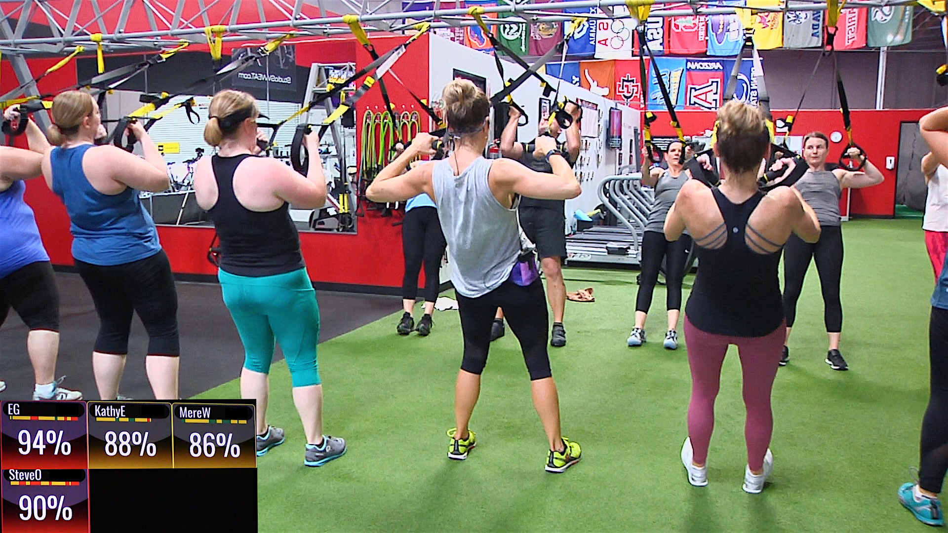 Online 20 Minute Trx 174 Hiit Workout Studio Sweat Ondemand