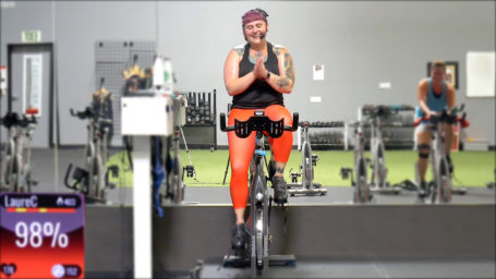20-Minute Spin Workout with Reggae