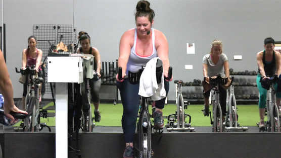 30-minute Spin class with classic rock music Classic Rock Ride