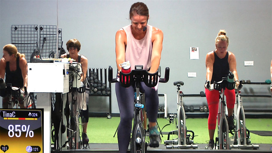 60-minute online Spin class Cycling Power Hour