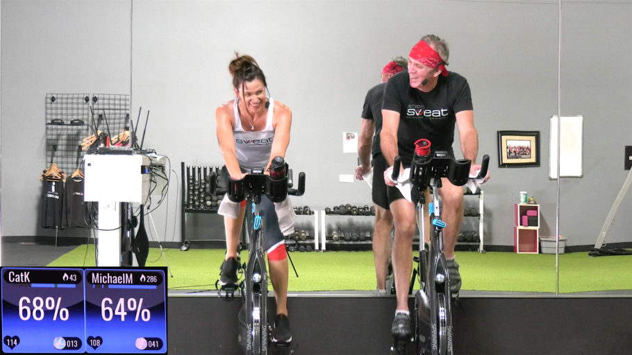 30-Min or 60-Min Low-Intensity Spinning Class