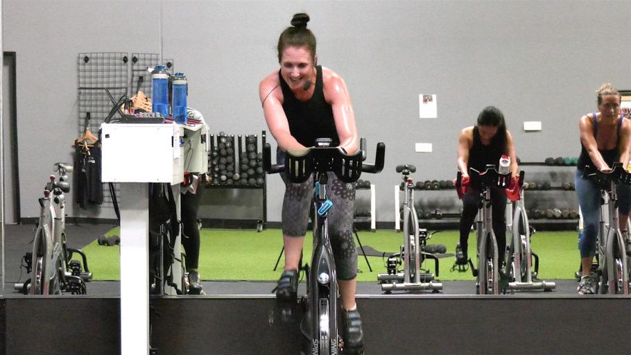 Online Cycling Class 40 Minute Labor of Love Ride + Opt. Bonus Sculpt