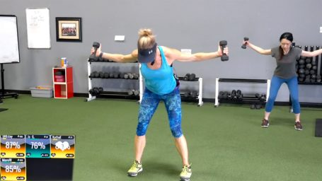 best high-rep, light-weight exercises Repetition Equals Definition