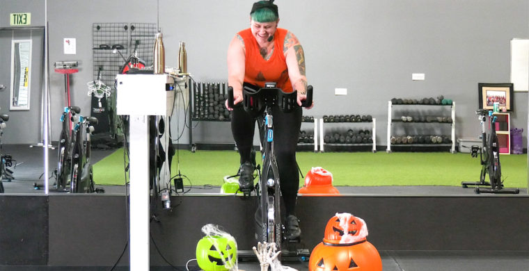 30 Min. Halloween Spin workout