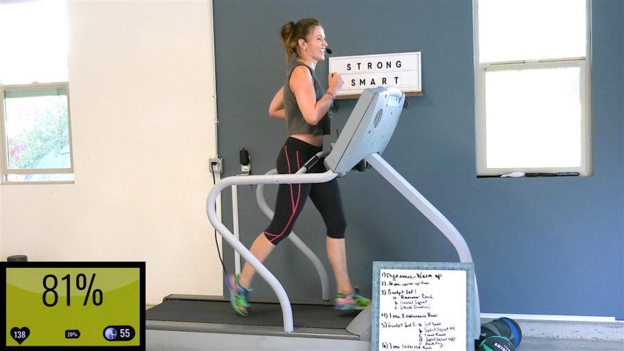 online Orangetheory (OTF) style workout Run Sculpt - Body Changer!