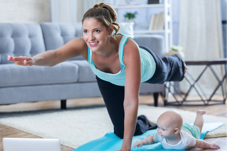 post pregnancy exercises
