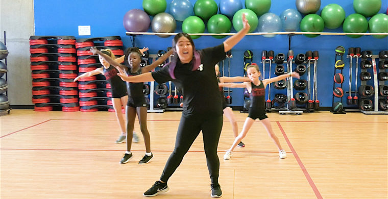 Hip Hop Cardio class for kids