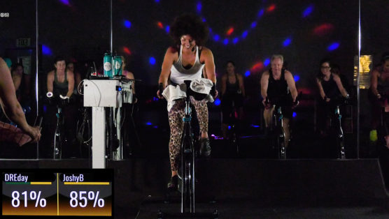 disco Spinning class Disco & Party Ride