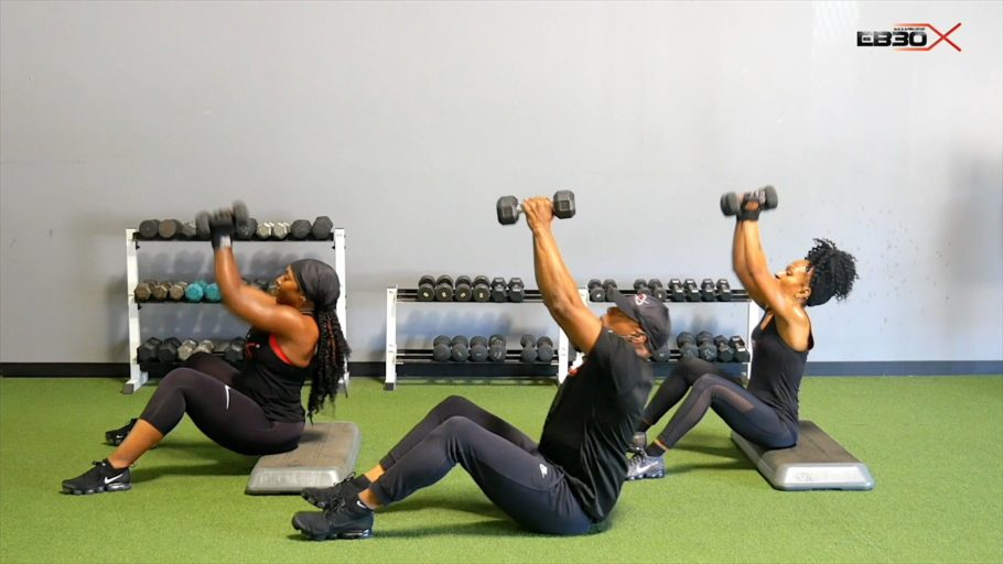 strength and cardio workout EB30X Shock Xtreme