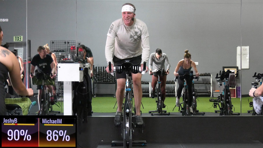 short in-app Spin class Spin® - Give Me 20!