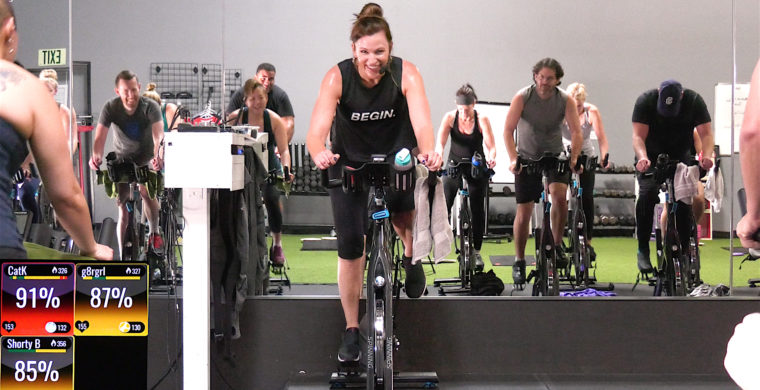 Spin Fusion class Spin® & Slides