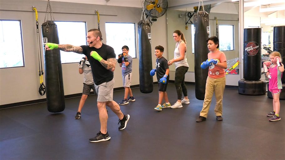 kid's boxing workout video 15 Min Kid's Boxing Drills