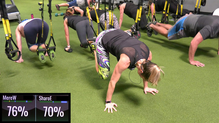 best upper-body TRX classes 15 Min Upper-Body Burn