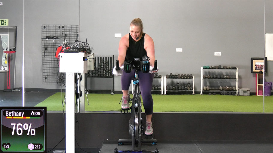 Low-Intensity Steady-State Spinning workout LISS Cardio Cycle