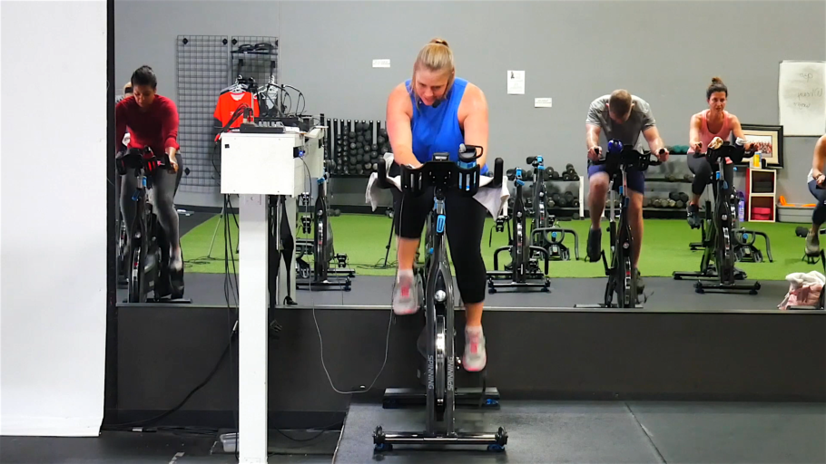 Spin workout video The Everything Spin Class