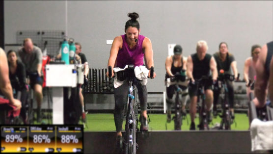 HIIT Spin Class 20-Min HIIT Cycle