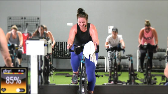 Spin class packed with EDM-vibe party tracks EDM-Vibe Ride