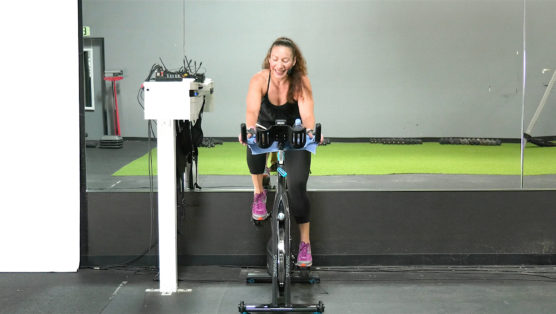 downloadable Cycling video Spin Soak & Stretch
