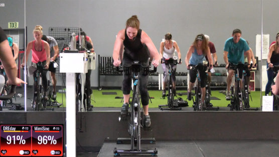high-intensity Cycling workout Get Up and Go Ride