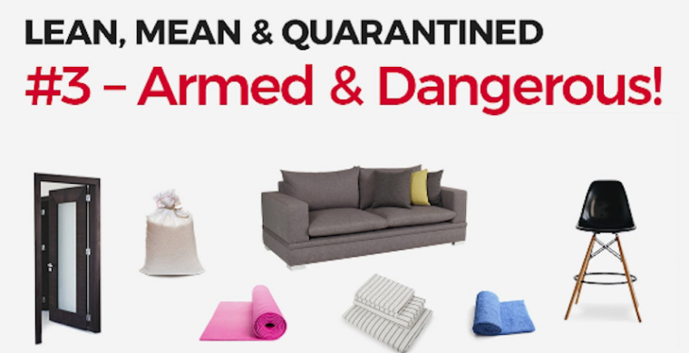 lean mean and quarantined arm workout at home no equipment