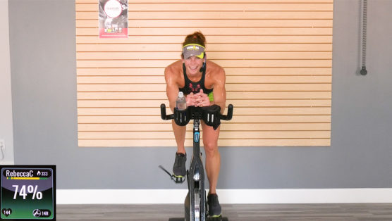 Downloadable Hour-long Cycling Workout 3 x 3 Turn & Burn | 60 Min Cycle