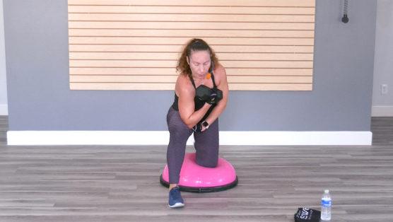 BOSU balance and strength workout video BOSU® Balance & Build