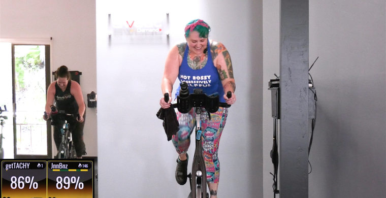 downloadable Tabata Spin class 45 Min Tabata Spin®