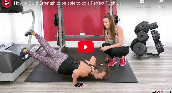 How to Build Strength to be able to do a Perfect Push-Up