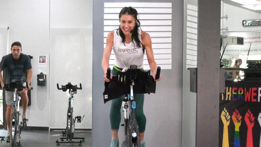 choreographed cardio dance ride 20 Min Rhythm Ride + 10 Min Stretch