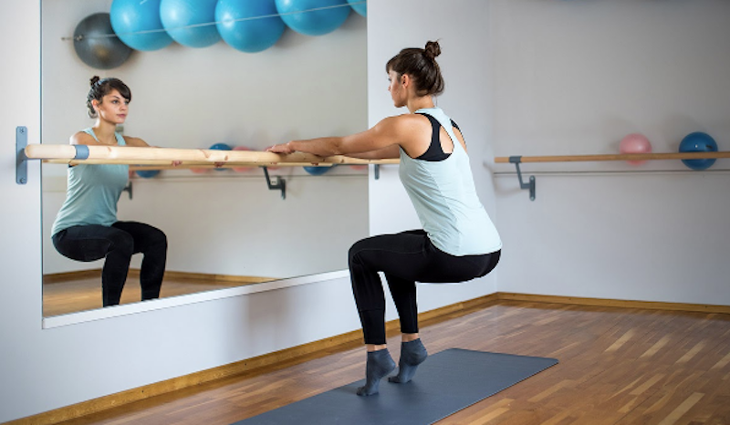 online barre workout