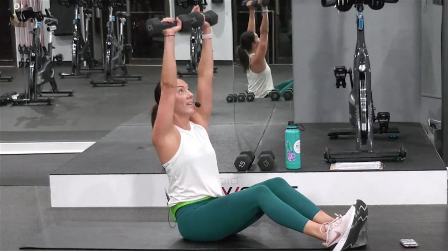 12-Minute AMRAP Shoulder Workout Quick Shoulder Shredder class