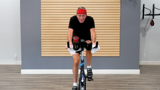 road cycle class for the Spin bike Virtual Road Ride Journey