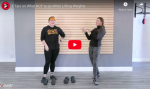 5 Tips on What NOT to do While Lifting Weights