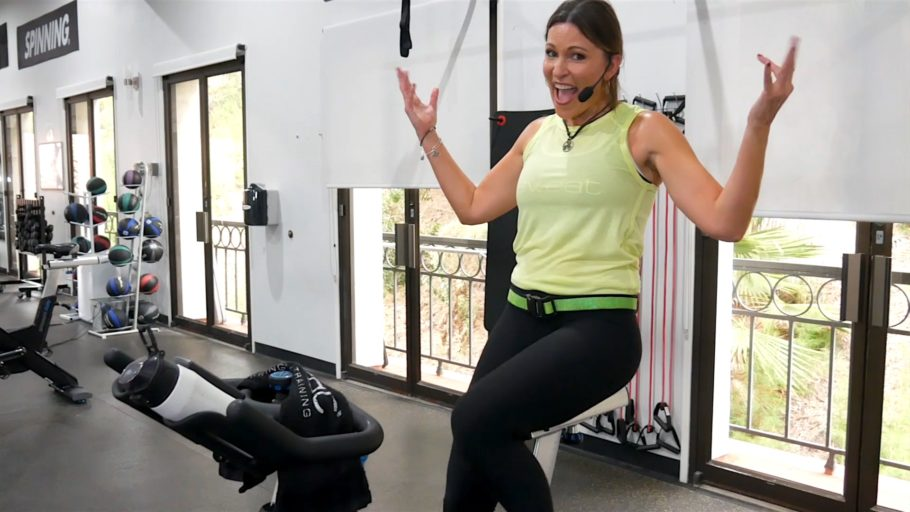 downloadable 60-Minute Spin routine in the best app for Spinning classes Run to 21 Cycling Workout online