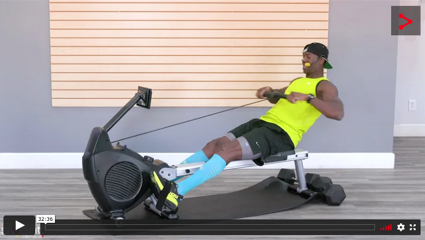 20 Min Rowing Intervals (Cycling Option) player