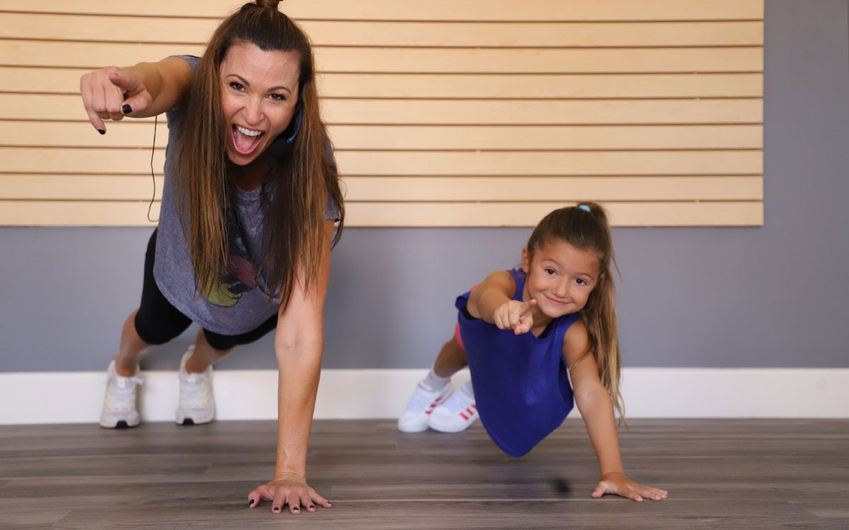 online kids workout
