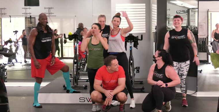 90-minute long online Spinning class 9 Years. 11 Trainers. 1 Killer Ride