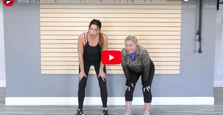 Lactate Threshold Training trainer tip video