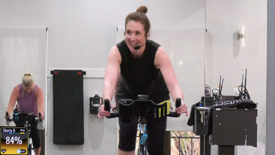 short indoor cycle and strength total-body burner Making it Count Cycle Sculpt