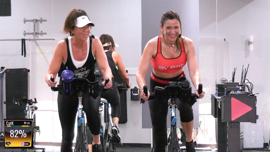 hiit and lower intensity Spinning class online Cycle-Therapy